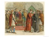 William I Meets with the English Leaders - James Doyle