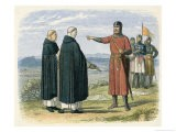 William Wallace Rejects the English Proposals at Cambuskenneth - James Doyle