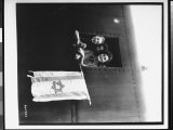 Jewish Children Holding Flag with Star of David, After Release from Buchenwald Concentration Camp - James E. Myers