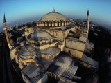 Side Domes and Added Minarets Gather About the Great Vault of Hagia Sophia - James L. Stanfield