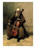 The Monk, 1874 - Jean-Baptiste-Camille Corot