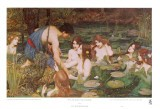 Hylas et les nymphes - John William Waterhouse