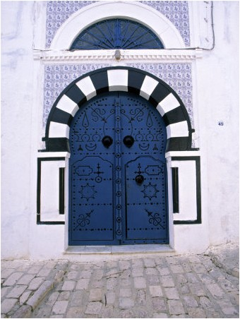 Jon Arnold - Blue Door, Sidi Bou Said, Tunisia