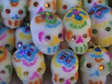 Sugar Skulls are Exchanged Between Friends for Day of the Dead Festivities, Oaxaca, Mexico - Judith Haden