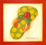 Red Flip Flop III - Kathy Middlebrook