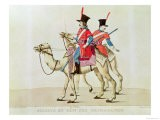 Soldiers of the Dromedary Regiment, 1839 - Laderer
