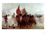 Scots Guards Saving the Colours at Alma, 1854, 1899 - Lady Butler