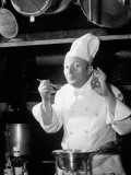 Chef Tasting Food, Ok Sign, 1942 - Lambert