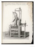 Chair Designed to Correct Deformities of the Spine Holding It in Any Desired Position - Langlume