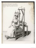 Chair Designed to Correct Deformities of the Spine Holding Neck and Body in Any Desired Position - Langlume