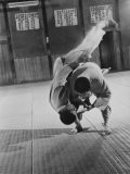 Judo Practice in Japan - Larry Burrows