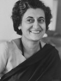 Mrs. Indira Gandhi - Larry Burrows