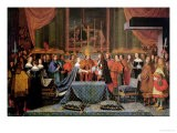 Celebration of the Marriage of Louis XIV and Maria Theresa of Austria, 9th June 1660 - Laumosnier