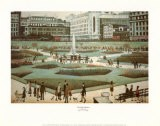 Piccadilly Gardens - Laurence Stephen Lowry