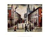 Rue populaire - Laurence Stephen Lowry