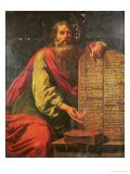 Moses and the Tablets of the Law - Laurent de La Hyre