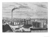 Deutsch Company, the Factory at Rouen, from Les Grandes Usines by Julien Turgan, c.1880 - Laurent Victor Rose