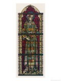Saint Stephen Wears a Many- Coloured Dream Coat in This Window in York Minster - Lawrence B. Saint