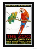 London's Tramways, The Zoo - Lawson Wood