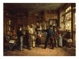 The Wine Merchant - Leon Marie Dansaert