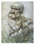 Study for an Apostle from the Last Supper - Leonardo da Vinci