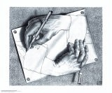 Mains dessinant - M. C. Escher