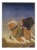 Tristram Carries Isolde Away to be His Uncle's Wife - Mackenzie