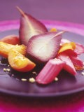 Poached Fruit (Pears, Rhubarb, Peaches) - Maja Smend