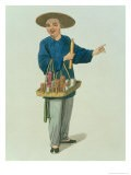 """An Apothecary Plate 26 from """"The Costume of China"""" - Major George Henry Mason"""