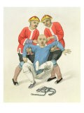 Twisting a Man's Ears, Plate 5 from 'The Punishments of China', engraved by J. Dadley, 1804 - Major George Henry Mason