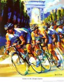 Victory on the Champs-Elysees - Malcolm Farley