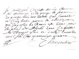 "Letter Regarding the Music Composed by Charpentier for ""Psyche"" by Moliere 1684 - Marc-antoine Charpentier"