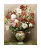 Dahlias dans un pot Empire - Marcel Dyf