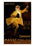 Masse Pere & Fils Champagne, c.1920 - Marcellin Auzolle