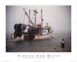 A la pêche-Fishing for Blues - Marcia Joy Duggan