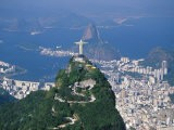 Rio De Janeiro with the Cristo Redentor in the Foreground and the Pao De Acucar in the Background - Marco Simoni