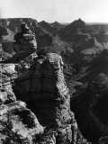 Aerial View of Rock Formation in the Grand Canyon - Margaret Bourke-White