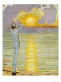 Man Contemplates the Sunrise - Margaret C. Cook
