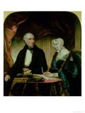Portrait of William and Mary Wordsworth, 1839 - Margaret Gillies