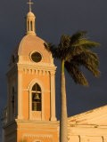 Belltower of Cathedral at Parque Colon, Granada, Nicaragua - Margie Politzer