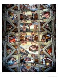 Sistine Chapel Ceiling and Lunettes, 1508-12 - Michelangelo Buonarroti
