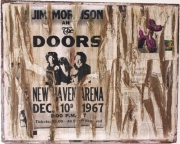 "mixte autres doors jimmorrison contemporain affiche : Spirit Of Wall  ""The Doors & Jim Morrison"""
