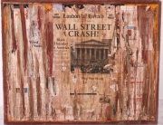 mixte wall street art : Wall street crash