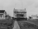 Moving Homes from Iroquois, Canada for the St. Lawrence Seaway Project