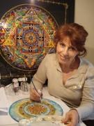 site art - Mandala-Héloïse Leker