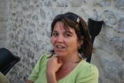 site artiste atelier - lau les fleurs cailloux cavier