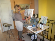 site artistes oeuvre - christine L�ger