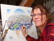 site art - Elisabeth Delcenserie