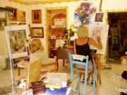 site artiste atelier - lydie bigeon frances
