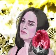 site art - myriam Ferrero paingt myriam